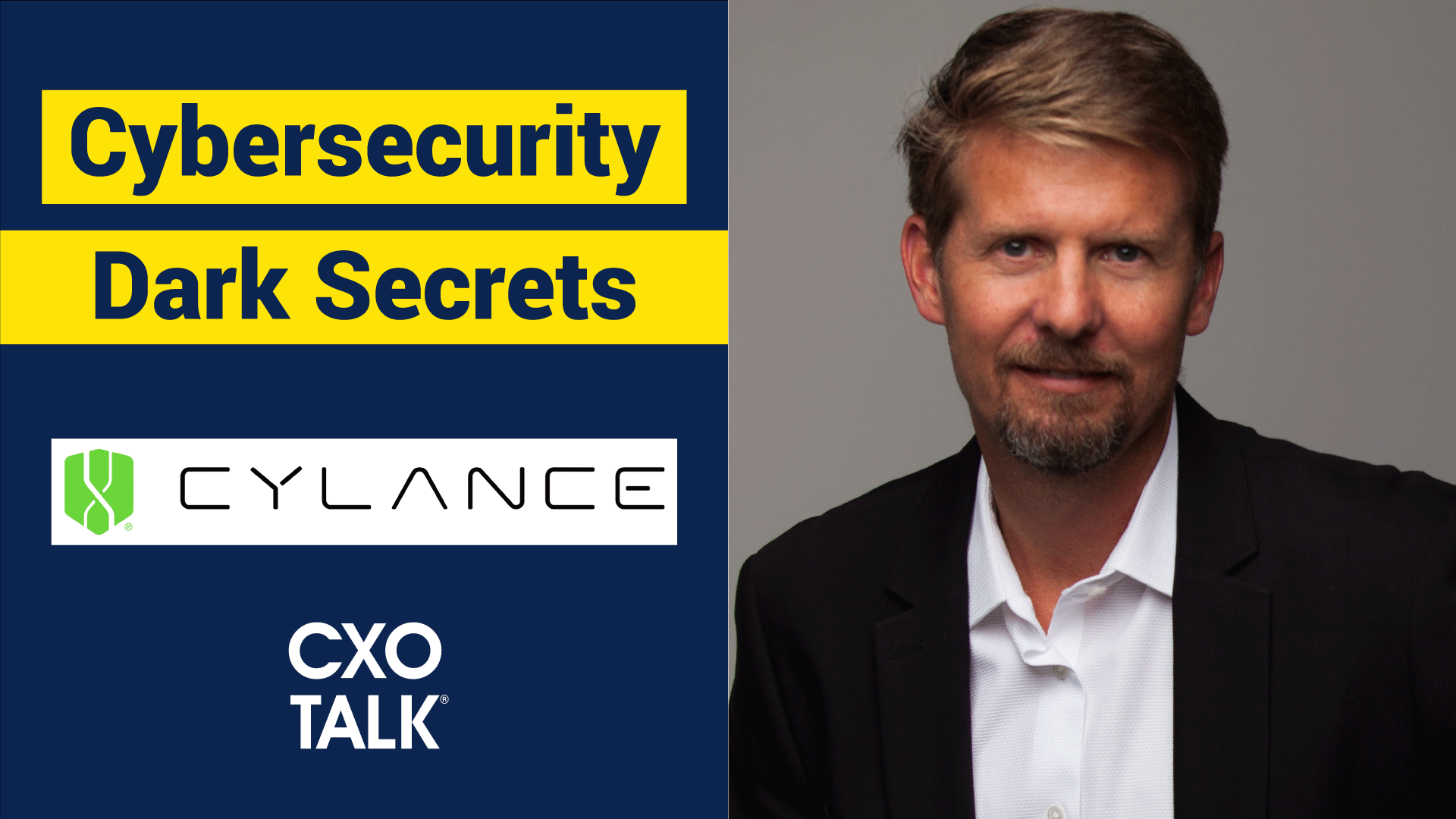 Cybersecurity and Machine Learning with Stuart McClure, Cylance
