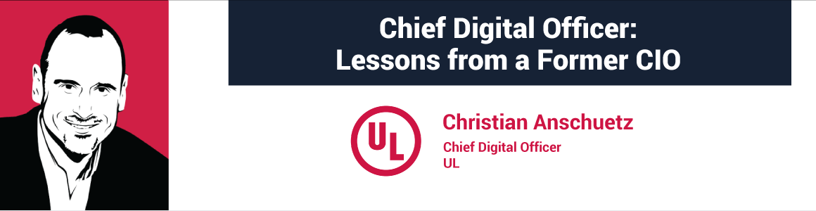 Chief Digital Officer: Lessons from a Former CIO