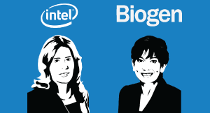 Interview with Kim Stevenson, CIO, Intel and Andi Karaboutis, EVP, Biogen